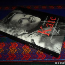 Cine: RECORDANDO A KATE, LA BIOGRAFÍA ÍNTIMA DE KATHARINE HEPBURN. LUMEN 1ª ED. 2003. DE A. SCOTT BERG. BE. Lote 178670320
