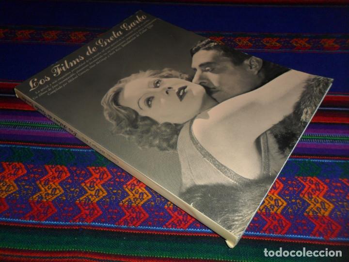 LOS FILMS DE GRETA GARBO. AYMÁ 1ª ED 1979. VIDECOR EL VIDEO-CLUB DEL CORTE INGLÉS. ILUSTRADO. (Cine - Biografías)