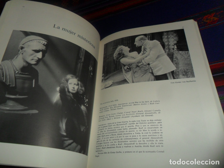 Cine: LOS FILMS DE GRETA GARBO. AYMÁ 1ª ED 1979. VIDECOR EL VIDEO-CLUB DEL CORTE INGLÉS. ILUSTRADO. - Foto 2 - 178670765