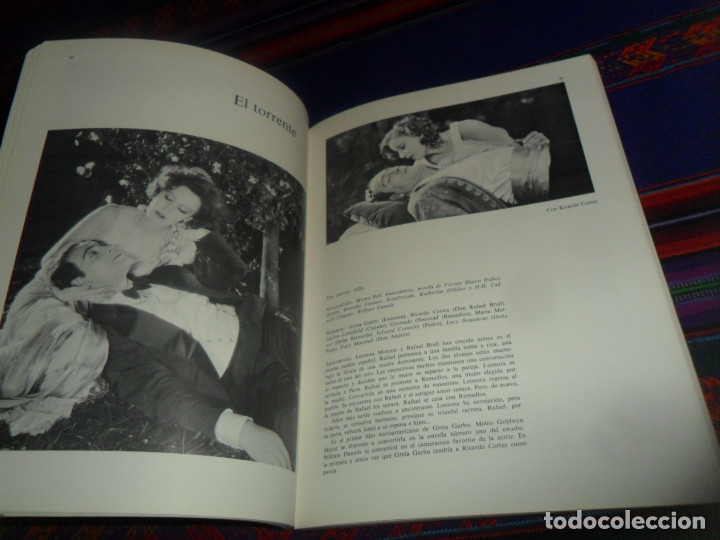 Cine: LOS FILMS DE GRETA GARBO. AYMÁ 1ª ED 1979. VIDECOR EL VIDEO-CLUB DEL CORTE INGLÉS. ILUSTRADO. - Foto 3 - 178670765