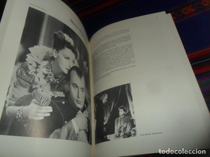 Cine: LOS FILMS DE GRETA GARBO. AYMÁ 1ª ED 1979. VIDECOR EL VIDEO-CLUB DEL CORTE INGLÉS. ILUSTRADO. - Foto 4 - 178670765