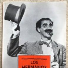 Cine: LOS HERMANOS MARX - LIBRO DE FOTOGRAFÍAS FORMATO 27,5 X 37,5 - EDITORIAL LIBSA - AÑO 1991. Lote 180111578