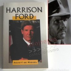 Cine: HARRISON FORD LIBRO BIOGRAFÍA ACTOR CINE DE PELÍCULAS COMO STAR WARS O BLADE RUNNER O INDIANA JONES. Lote 180198950