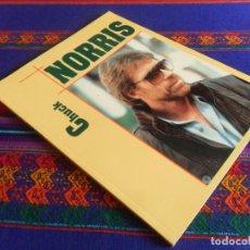 Cine: CHUCK NORRIS RETRATOS POR FERNANDO ALONSO. ROYAL BOOKS 1994. RÚSTICA, MUY ILUSTRADO. MBE.. Lote 180216847