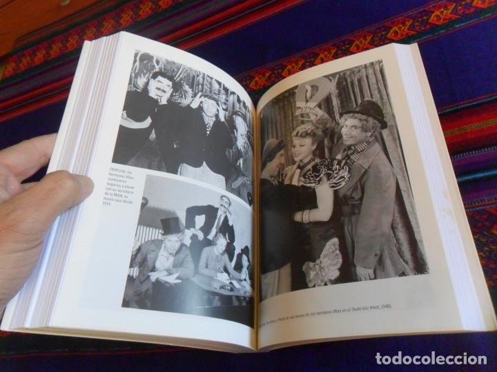 Cine: MONKEY BUSINESS LA VIDA Y LEYENDA DE LOS HERMANOS MARX. T&B EDITORES 3ª EDICIÓN 2001. SIMON LOUVISH. - Foto 4 - 181017948