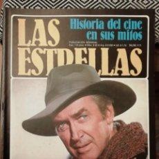 Cine: HISTORIA DEL CINE EN SUS MITOS - JAMES STEWART (BIOGRAFÍA ILUSTRADA Y DOCUMENTADA). Lote 184533690