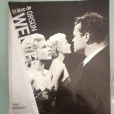 Cinema: EL LIBRO DE ORSON WELLS. Lote 185875972