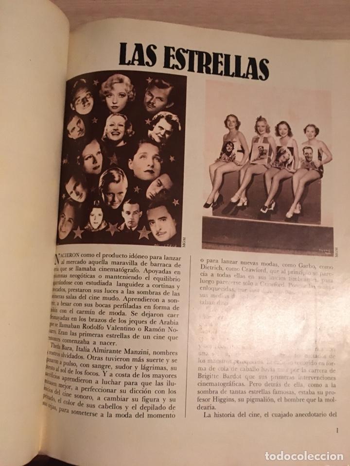 LIBRO ESTRELLAS DE CINE (Cine - Biografías)