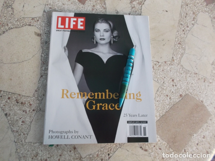 LIFE GREAT PHOTOGRAPHERS SERIES REMEMBERING GRACE ,25 YEARS LATER,PHOTOGRAPHS BY HOWELL CONANT (Cine - Biografías)