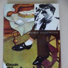 Cine: CLAUDE CHABROL, DE ROBIN WOOD - MICHAEL WALKER. Lote 188490196