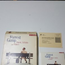 Cine: FORREST GUMP MUSIC ARTISTS AND TIMES EN INGLÉS CAJA 3 CD MULTIMEDIA PC/MAC AÑO 1995. Lote 190622281