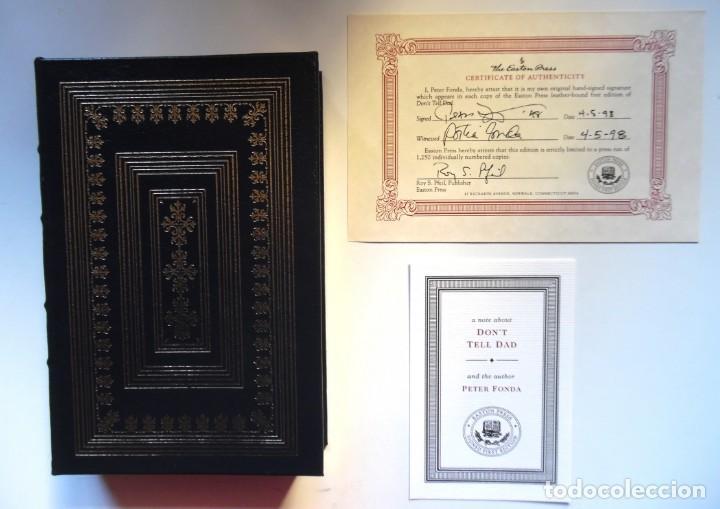 Cine: Peter Fonda. Firmado y numerado a mano con certificado. Don´t Tell Dad. Libro número 864 de 1250 - Foto 14 - 190882812
