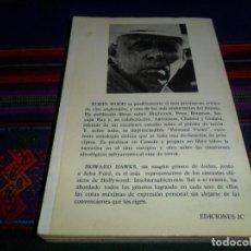Cine: HOWARD HAWKS DE ROBIN WOOD. EDICIONES JC 1983. COLECCIÓN DIRECTORES DE CINE 9 10. 237 PÁGINAS.. Lote 191291827