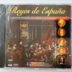 Cine: REYES DE ESPAÑA / UN RECORRIDO INTERACTIVO POR LA HISTORIA DE LA MONARQUIA ESPAÑOLA / CD. Lote 191483132
