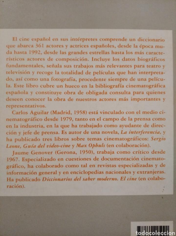 Cine: Libro El cine español en sus intérpretes - Foto 2 - 191634783