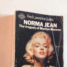 Cine: NORMA JEAN · THE TRAGEDY OF MARILYN MONROE · FRED LAWRENCE GUILES · 1971. Lote 192223237