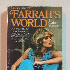Cinema: WELCOME TO FARRAH'S WORLD · BY CLAIRE SUSANS · WITH SIXTEEN PAGES OF SENSATIONAL PHOTOS! 1977. Lote 192276793