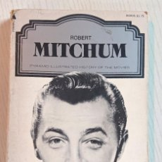 Cinéma: ROBERT MITCHUM · PYRAMID ILLUSTRATED HISTORY OF THE MOVIES · BY JOHN BELTON 1976. Lote 204639533