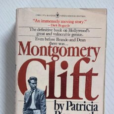 Cinéma: MONTGOMERY CLIFT BY PATRICIA BOSWORTH · 32 PAGES OF PHOTOGRAPHS · BANTAM EDITION, 1978. Lote 204639665