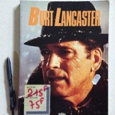 Cine: BURT LANCASTER · ROLAND LACOURBE · EDILIG, 1987 · EN FRANCÉS. Lote 192367345