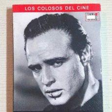 Cinema: MARLON BRANDO · LOS COLOSOS DEL CINE · M. J. PAYAN - J. C. RENTERO EXCELENTE ESTADO. Lote 192891667