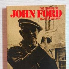 Cinema: THE CINEMA OF JOHN FORD BY JOHN BAXTER 1971. Lote 192894195