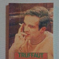 Cinema: TRUFFAUT · PAR HERVE DALMAIS // RIVAGE CINEMA 1987. Lote 192898797