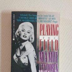 Cinema: PLAYING THE FIELD · MAMIE VAN DOREN WITH ART AVEILHE · BERKLEY BOOKS NEW YORK 1988. Lote 193569966