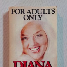 Cine: DIANA DORS · FOR ADULTS ONLY · A STAR BOOK · 1978. Lote 193806117