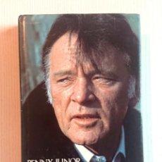 Cine: BURTON · THE MAN BEHING THE MYTH · BY PENNY JUNOR · SIDGWICK & JACKSON, LONDON, 1985 . Lote 193992756