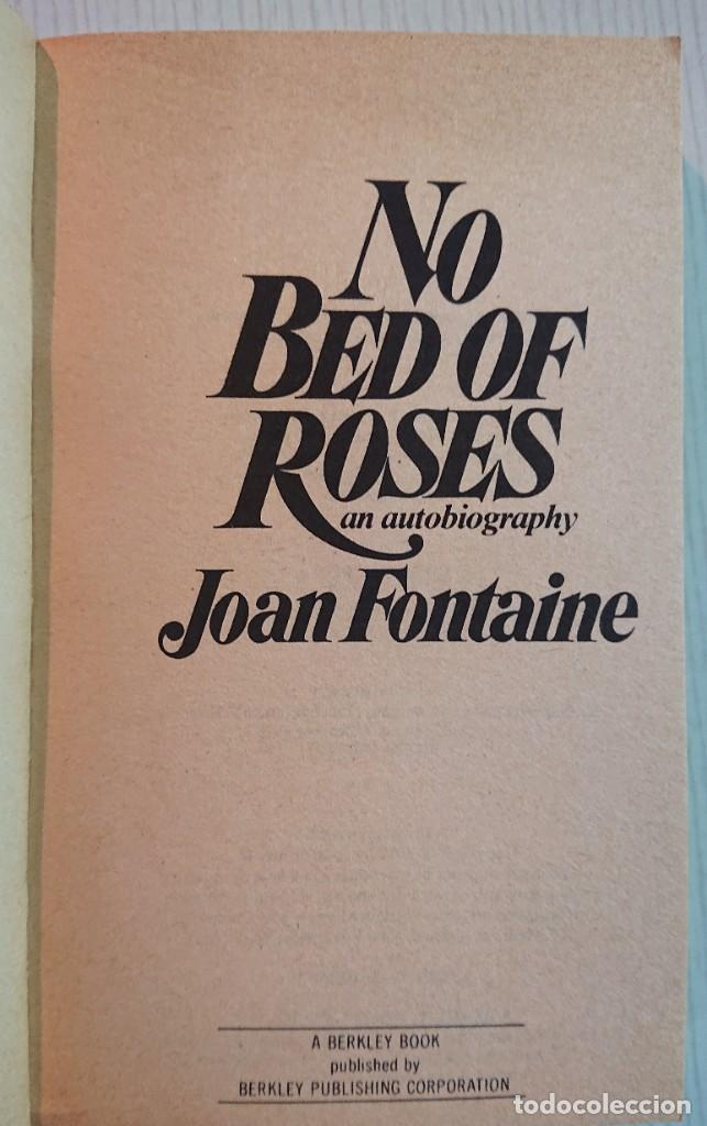Cine: NO BED OF ROSES An Autobiography by JOAN FONTAINE With 16 pages of photographs · A Berkley Book 1978 - Foto 2 - 194003023