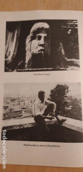 Cine: 1 FOLLETO DE **.JEAN MARIE STRAUB Y DANIELE HUILLET . ** .FILMOTECA NACIONAL DE ESPAÑA 1973 - Foto 4 - 194089037