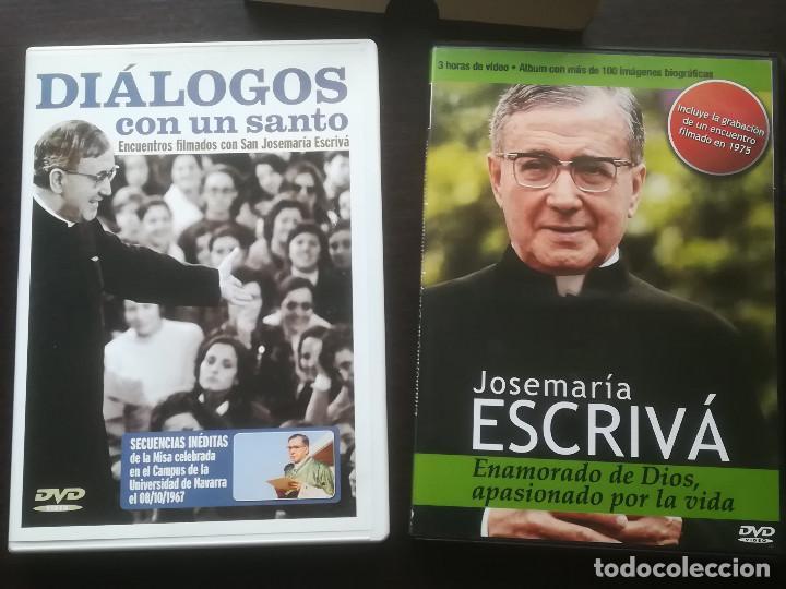 PACK 2 DVD SAN JOSEMARÍA ESCRIVÁ DE BALAGUER - FUNDADOR OPUS DEI (Cine - Biografías)