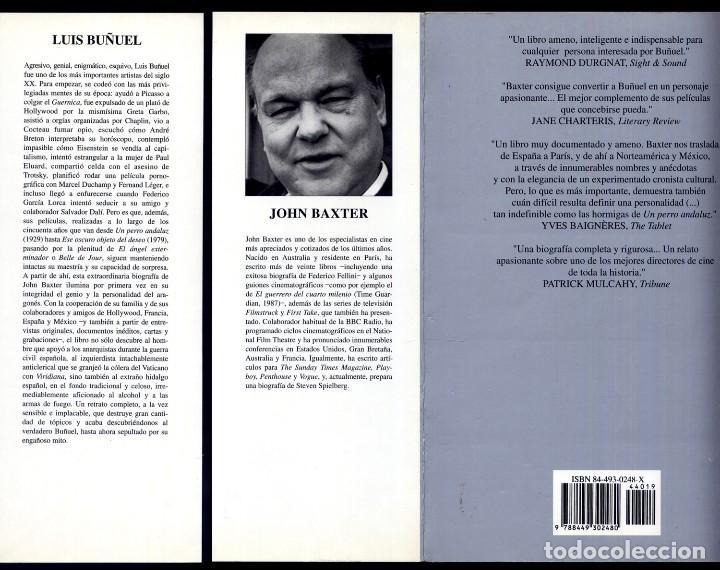 Cine: BAXTER, John. Luis Buñuel. Una Biografía. 1996. - Foto 2 - 194281323
