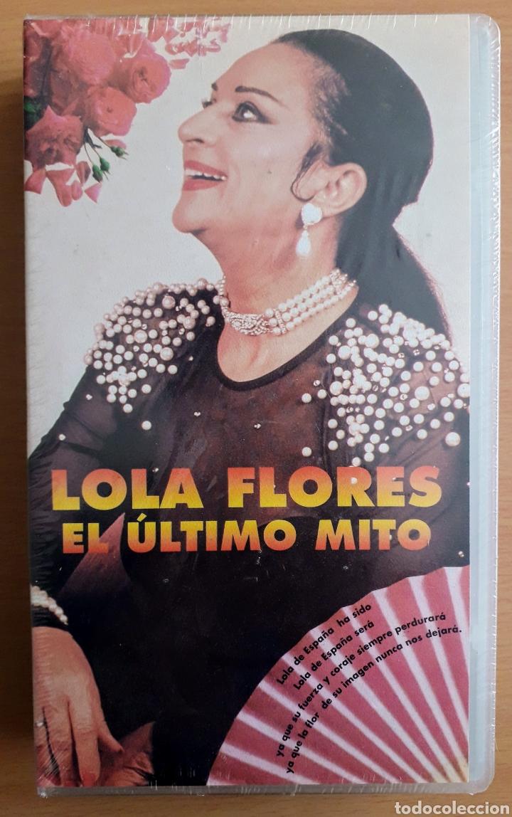 CINTA VHS DE 30 MINUTOS QUE NARRA LA BIOGRAFÍA DE LOLA FLORES - LA FARAONA: PRECINTADA/SIN ESTRENAR (Cine - Biografías)