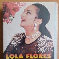 Cine: CINTA VHS DE 30 MINUTOS QUE NARRA LA BIOGRAFÍA DE LOLA FLORES - LA FARAONA: PRECINTADA/SIN ESTRENAR. Lote 194293092