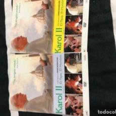 Cine: CDS DE KAROL II: EL PAPA I-II. Lote 194534408