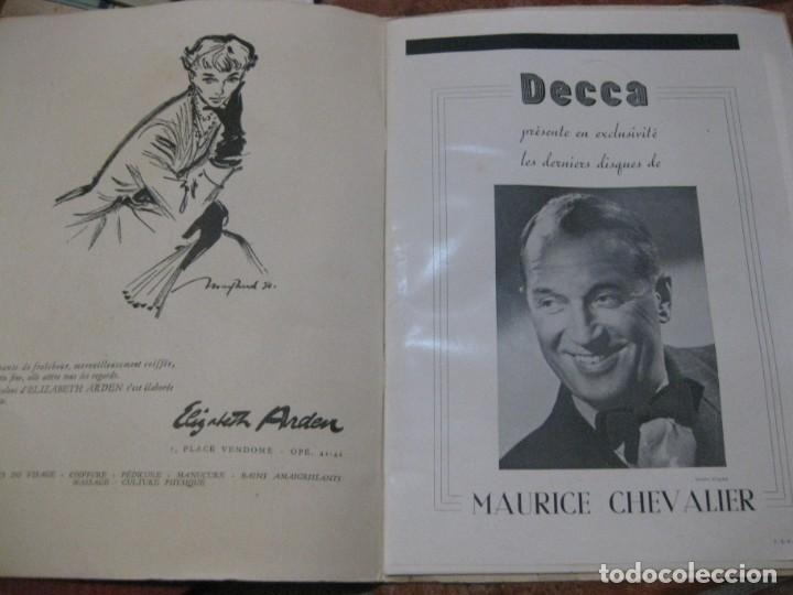Cine: programa libro maurice chevalier biografia discos publicidad chanel litografia badia vilato - Foto 2 - 194747057