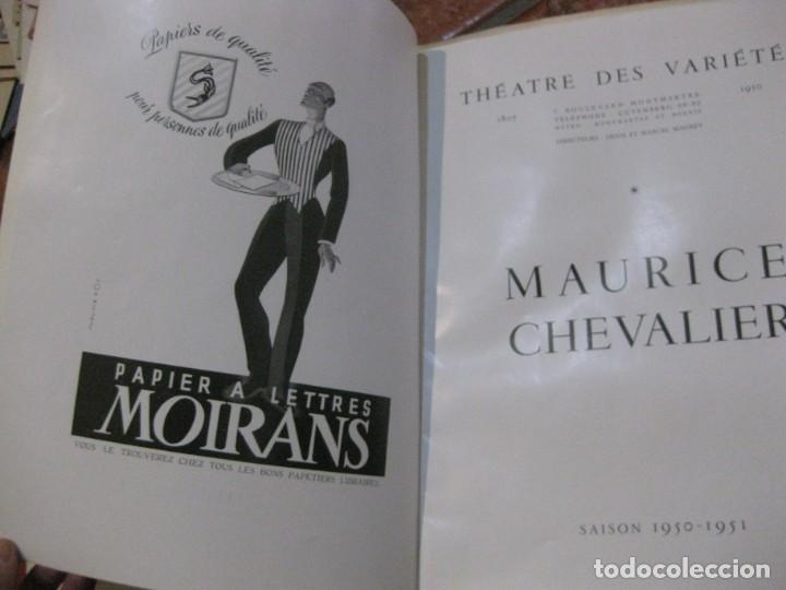 Cine: programa libro maurice chevalier biografia discos publicidad chanel litografia badia vilato - Foto 3 - 194747057