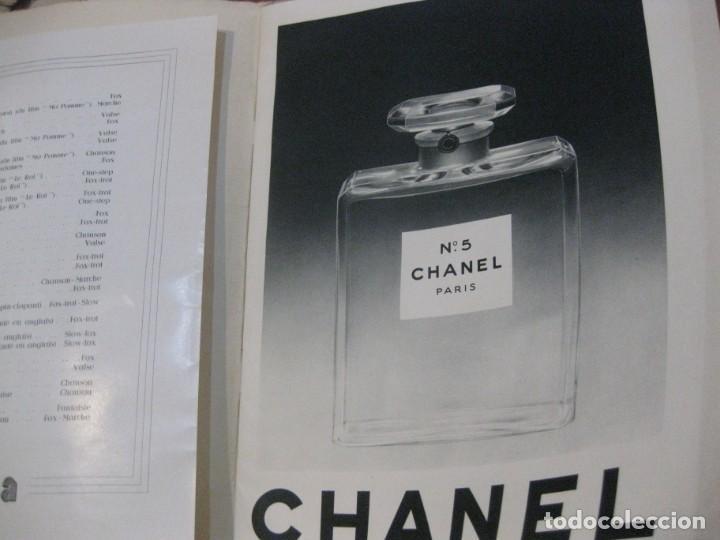 Cine: programa libro maurice chevalier biografia discos publicidad chanel litografia badia vilato - Foto 4 - 194747057