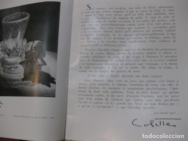 Cine: programa libro maurice chevalier biografia discos publicidad chanel litografia badia vilato - Foto 7 - 194747057