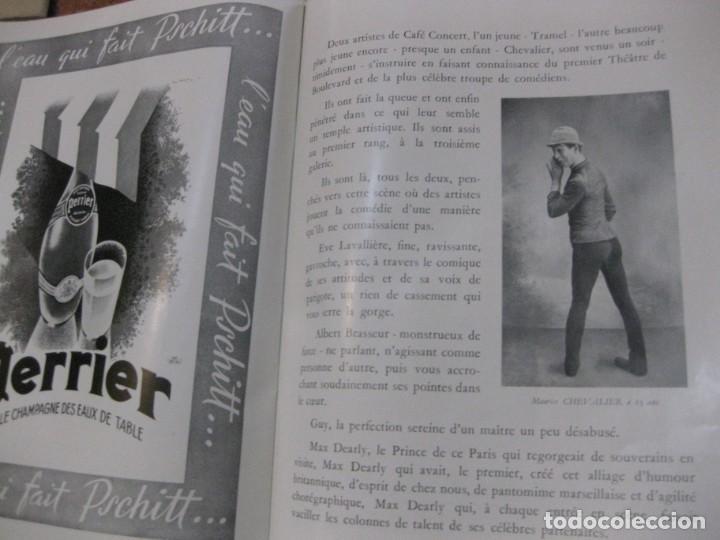 Cine: programa libro maurice chevalier biografia discos publicidad chanel litografia badia vilato - Foto 9 - 194747057