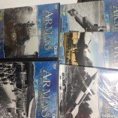 Cine: PACK 5 DVDS. ARMAS DE LA LL GUERRA MUNDIAL.. Lote 194877171