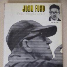 Cine: JOHN FORD, DE PETER BOGDANOVICH. Lote 194970480