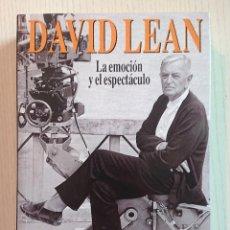 Cine: DAVID LEAN LA EMOCIÓN Y EL ESPECTÁCULO ·LIBROS DIRIGIDO 2000 FERNÁNDEZ VALENTÍ · EXCELENTE ESTADO . Lote 195276367