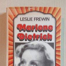 Cine: MARLENE DIETRICH POR LESLIE FREWIN · EDITORIAL GRIJALBO, 1973. Lote 195291312