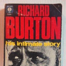 Cinema: RICHARD BURTON HIS INTIMATE STORY · BY RUTH ATERBURY · ILLUSTRATED · PYRAMID, 1965. Lote 195295663