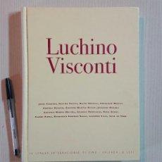 Cine: LUCHINO VISCONTI · 46 SEMANA INTERNACIONAL DE CINE · VALLADOLID 2001 · VARIOS AUTORES. Lote 195370140