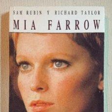 Cine: MIA FARROW · POR SAM RUBIN Y RICHARD TAYLOR · ULTRAMAR, 1991 MUY BUEN ESTADO. Lote 195388856