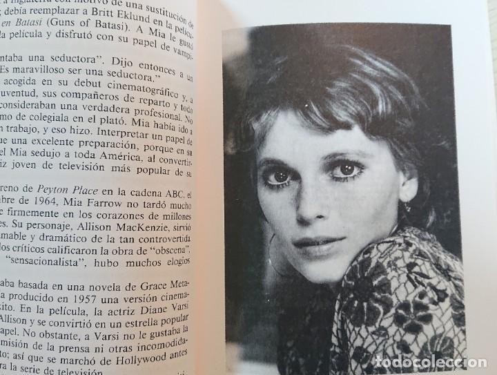 Cine: MIA FARROW · Por Sam Rubin y Richard Taylor · Ultramar, 1991 MUY BUEN ESTADO - Foto 2 - 195388856